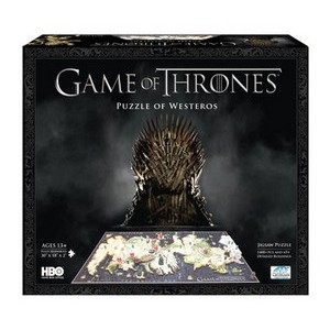 Gavetips: Game of Thrones 3D-puslespill