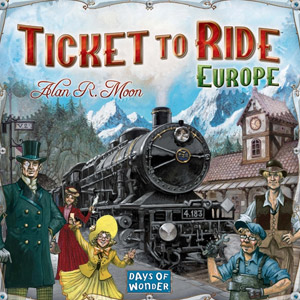 Gavetips: Ticket To Ride Europe