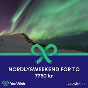 Gavetips: Nordlysweekend for to