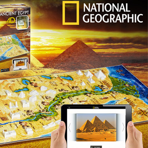 Gavetips: 4D-puslespill fra National Geographic