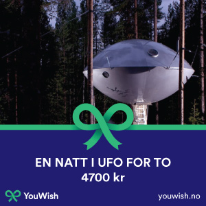 Gavetips: Overnatting i UFO for to