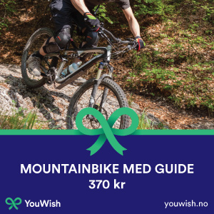 Gavetips: Mountainbike med guide