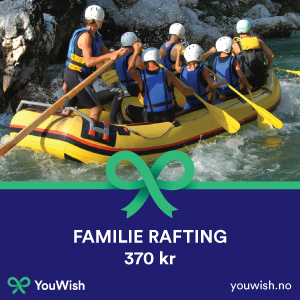 Gavetips: Rafting for hele familien
