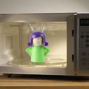 Gavetips: Angry Mama - rengj�r microen p� fem min