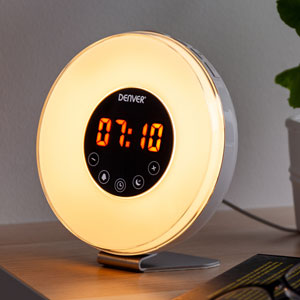 Gavetips: Denver Wake-up Light Vekkerklokke