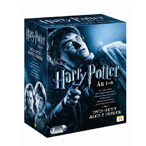 Gavetips: Harry Potter 1 -7 DVD