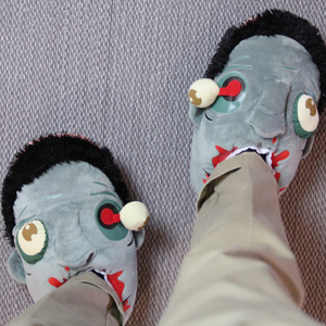 Gavetips: Zoombie slippers