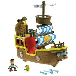 Gavetips: Jake and the neverland pirates, Bucky Pirate Ship