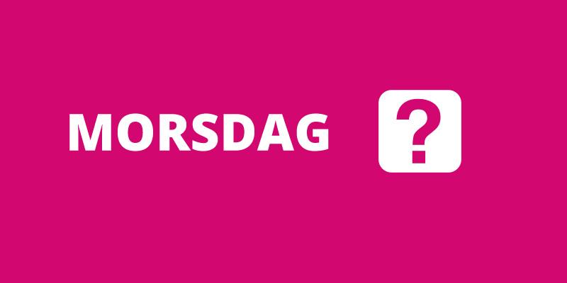 morsdag i norge